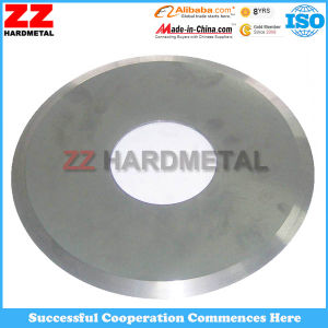 0.3mm Thin Tungsten Cemented Carbide Sharp Circular Cutting Knives Blade for Cutting pictures & photos