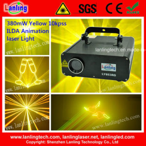 Ilda Animation Stage Yellow Laser Disco Party Light pictures & photos
