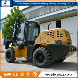 New 3m-5m Lifting All Rough Terrain Forklift for Sale pictures & photos
