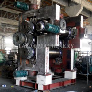 Four Roll Rubber Sheet Calender Machine Factory Plant Manufacturers pictures & photos