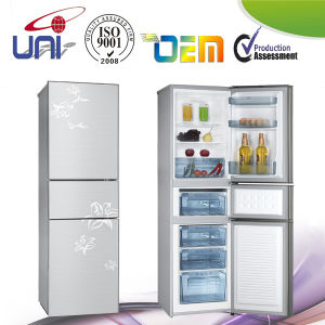 208L Double Door Household Refrigerator Mic-Bcd-208HK pictures & photos