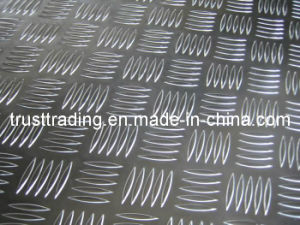 Embossed Diamond Aluminum Plate pictures & photos