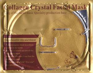 Anti Wrinkle Face Collagen 24k Gold Mask pictures & photos