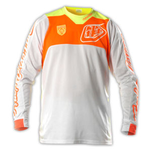 Orange OEM Polyester Sublimation Motorcycle Racing Jersey (MAT32) pictures & photos