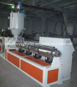 High Quality Machine PVC Plastic Profile Extrusion Production Line pictures & photos