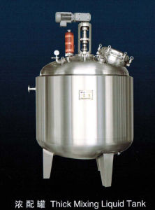 Thick Mixing Liquid Tank