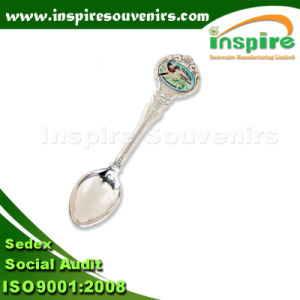 Paris Metal Sliver Spoon with Plastic Box Packing pictures & photos
