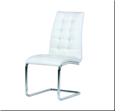 Popular PU Leather Covered Chair
