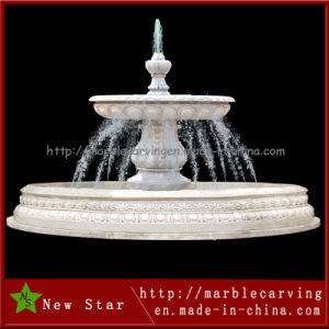 Cheap Martblecarving Outdoor Water Fountain for Decoration (NS-249) pictures & photos
