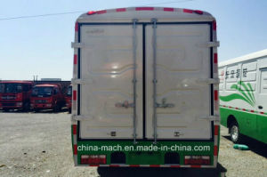 Dongfeng Lotus 115 Horsepower Closed Cargo Bus pictures & photos