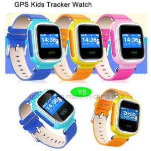 Ios/Android Factory Wholesale GPS Tracker Smart Watch for Child/Kids Y5 pictures & photos