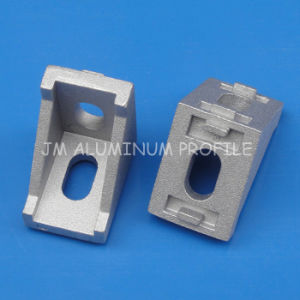 CNC DIY Accessories 2028 2020 Corner Angle L Brackets Connector Fasten Fitting Long Hole for Aluminum Profile 2020 20X20 pictures & photos