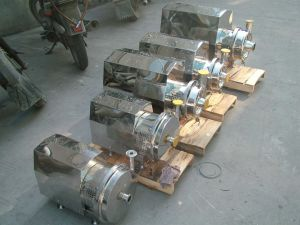 Rotary Lobe Pump for High Viscosity Medium (Chocolate, Honey, Ice Cream, Cosmetic) pictures & photos