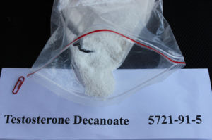 Injectable 5721-91-5 Testosterone Decanoate Raw Steroid Powder Supplier pictures & photos