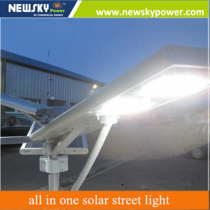 60W New Product Hot Sale 2016 25W LED Solar Lamp Price All in One Solar Street Light pictures & photos