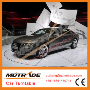 1 Class Quality Car Turner Automated Automatic Auto Rotating Car Turntable pictures & photos