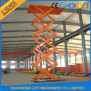 1.5m 2 Ton Hydraulic Scissor Lift pictures & photos