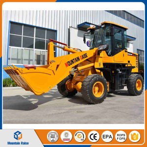 China New Condition Wheel Loader Zl 16 with Shovel Bucket pictures & photos