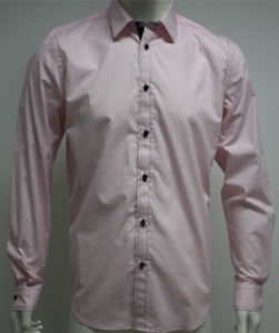 Man′s Fashion Casual Shirts with Long Sleeve HD0078