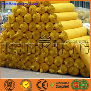 Isoking Heat Insulation Fiber Glass Wool Blanket pictures & photos