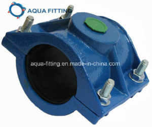 Tapping Saddle with Flange Outlet for Di Pipe pictures & photos