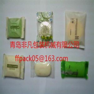 Full Automatic Hotel Soap/ Toilet Soap Flow Packing/ Packaging Machine pictures & photos