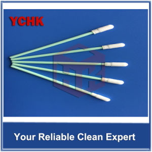 Double Layer Short Handle Polyester Cleanroom Swab pictures & photos