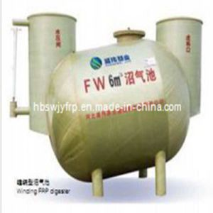 High Quality FRP Winding Methane Tank From Chinese Manufacturer pictures & photos