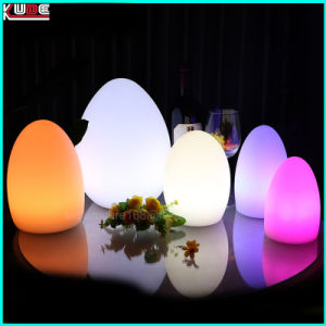 LED Stand Desk Egg Lamp Christmas Lighting with 16 Colors pictures & photos