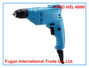Power Tools Electric Hand Drill 680W 10mm (HZL-6680)
