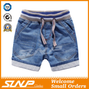 Fashion Cotton Kids Clothes Boys Clothing Denim Pants for Summer