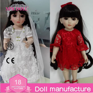 "18 Inch BJD Ball Jointed Doll 18"" Inch Girl Doll Long Hair Sweet Girl Doll Decoration Toy for Kids Full Vinyl Dolls Princess Dolls Clothes Toys for Children"