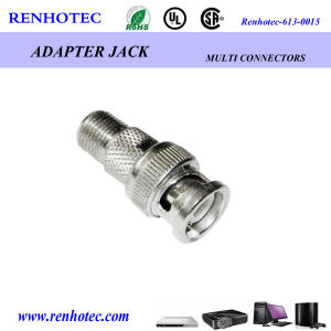 F Famale to BNC Male Adapter pictures & photos