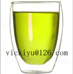350ml Coffee Mug Heat-Resisting Glass Cup 350ml pictures & photos