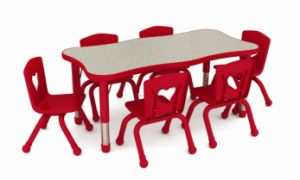 2014 Newest Style Kids Table and Chairs (YQL-19303A)