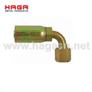 Hydraulic Hose Fitting 45 Degree Bsp Female Swivel pictures & photos