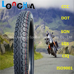 Popular Pattern Motorcycle Tyre for Nigeria Market (3.00-17, 3.00-18, 2.50-17) pictures & photos