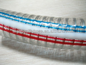 Non - Toxic Spiral PVC Steel Wire Hose pictures & photos