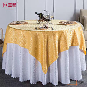 Polyester Jacquard Table Cover pictures & photos