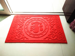 Anti-Skidding Outdoor Carpet (outdoor mat) with PVC Backing pictures & photos