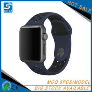 2017 New Design Sport Silicone Watch Band for Apple Watch pictures & photos