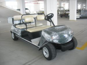 Mini 4 Seats Street Legal Electric Golf Car Ce pictures & photos