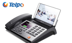 Telpo Support dual Protocal 4 Line WiFi VoIP Smart Phone