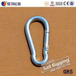 Hot Selling DIN5299c Carbon Steel Common Mountain Climbing Snap Hook pictures & photos