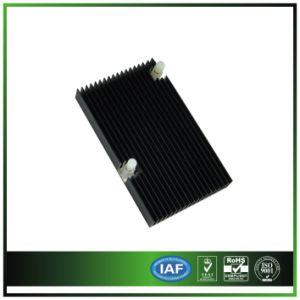 Anodized Black & Extruded Aluminum Heatsink for Communication Equipment pictures & photos