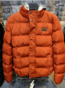 2016 New Design Season Fashion Orange Padding Jackets for Men pictures & photos