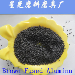 Brown Aluminum Oxide for Sandblasting pictures & photos