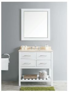 New Design Solid Wood Bathroom Cabinet (DS04) pictures & photos