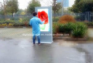98inch Outdoor Stand Alone LCD Advertising Digital Signage with Touch Screen