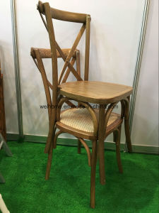 Stackable Cross Back Chair pictures & photos